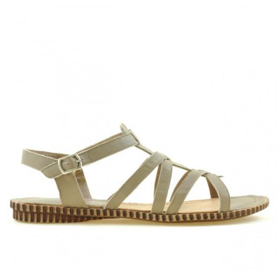 Women sandals 595 sand