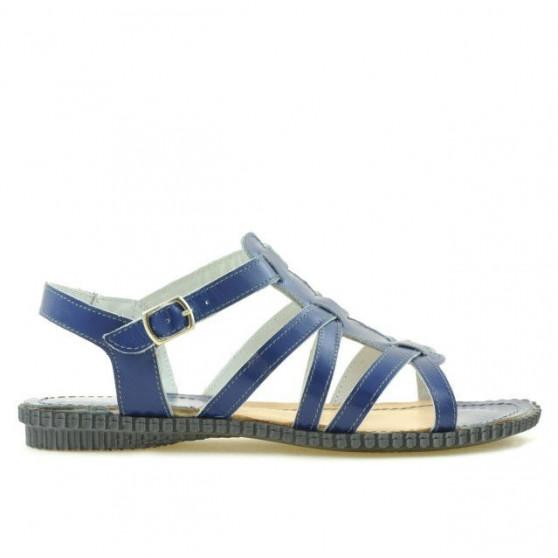 Women sandals 595 indigo 1