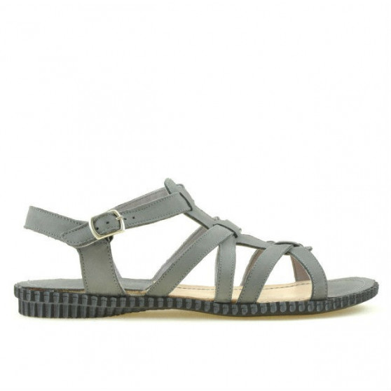 Women sandals 595 gray
