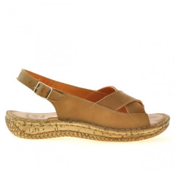 Women sandals 507 brown cerat