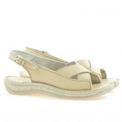 Sandale dama 507 bej