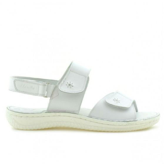 Sandale dama 518 alb