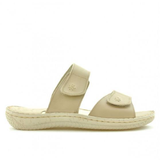 Sandale dama 517 bej