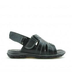 Sandale copii mici 41c negru+gri