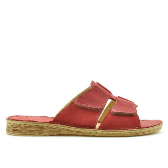 Women sandals 510 red coral