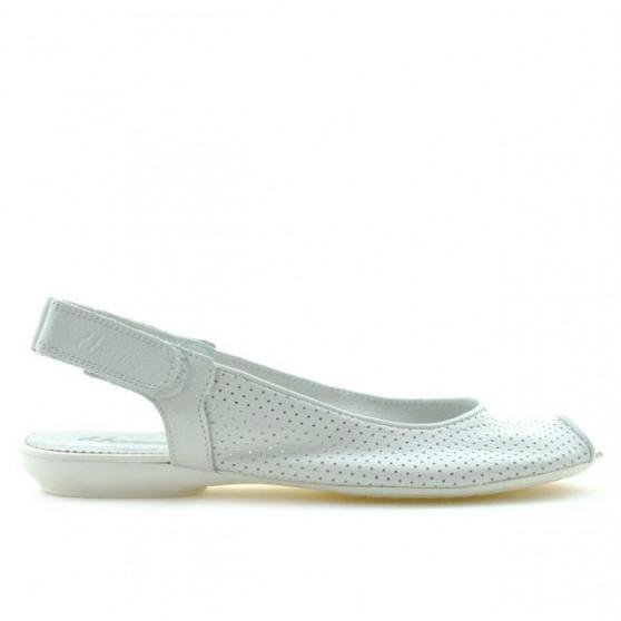 Sandale dama 583 alb