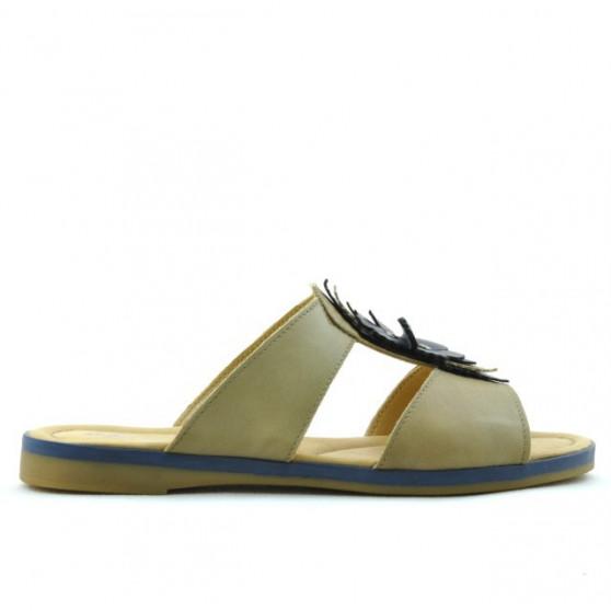 Sandale dama 5008 maro+indigo