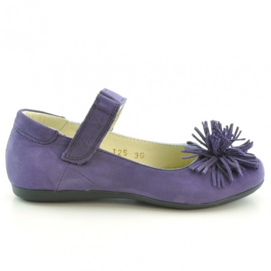 Children shoes 125 bufo purple
