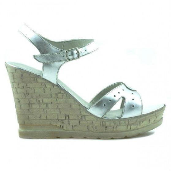 Women sandals 5021 silver