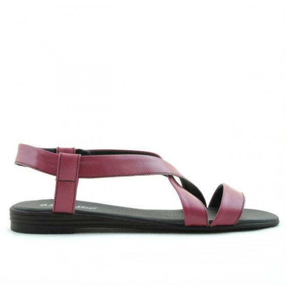 Women sandals 5010 pink zmeura