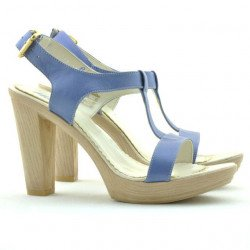 Sandale dama 5018 bleu sidef