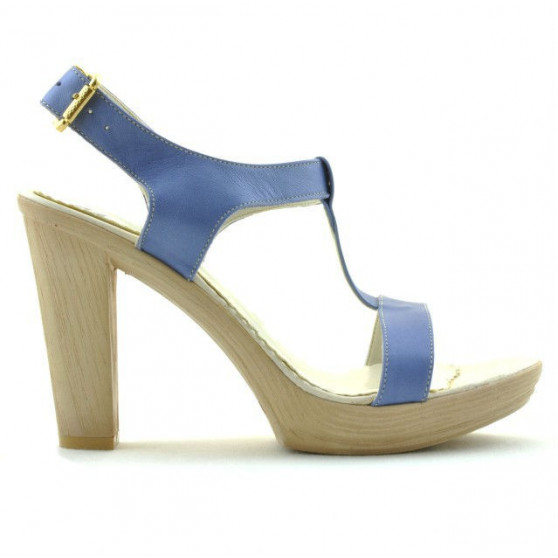Women sandals 5018 bleu pearl