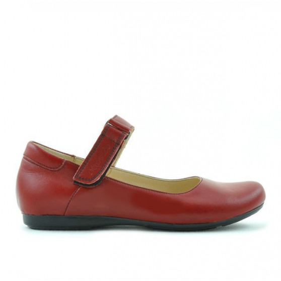 Children shoes 125 red