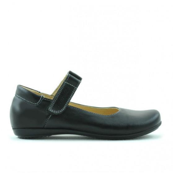 Children shoes 125s black simplu
