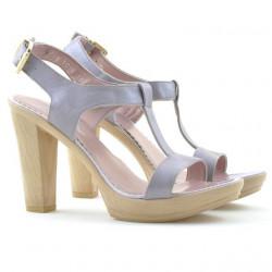 Women sandals 5018 purple pearl