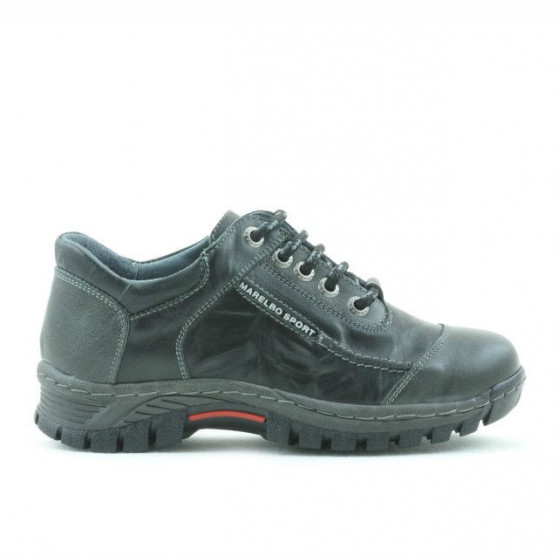 Children shoes 137 black+gray