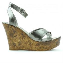 Sandale dama 5017 lac aramiu