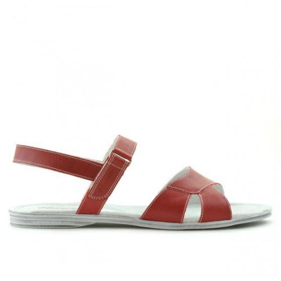 Women sandals 5012 red