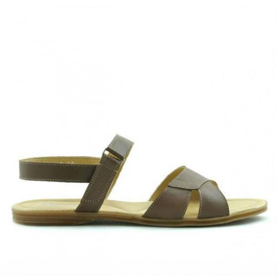 Women sandals 5012 cappuccino