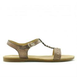Sandale dama 5011 auriu