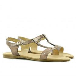 Women sandals 5011 golden