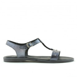 Women sandals 5011 silver