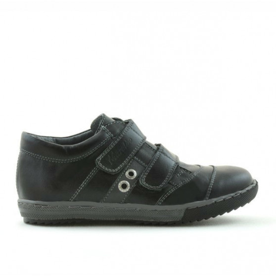 Children shoes 134 black+gray