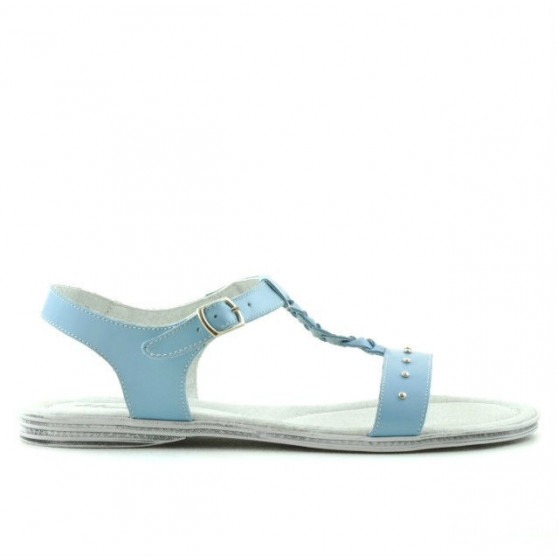 Women sandals 5011 bleu