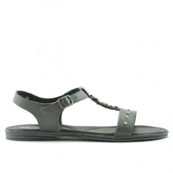 Women sandals 5011 gray