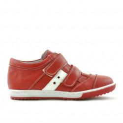 Pantofi copii 134 rosu+alb
