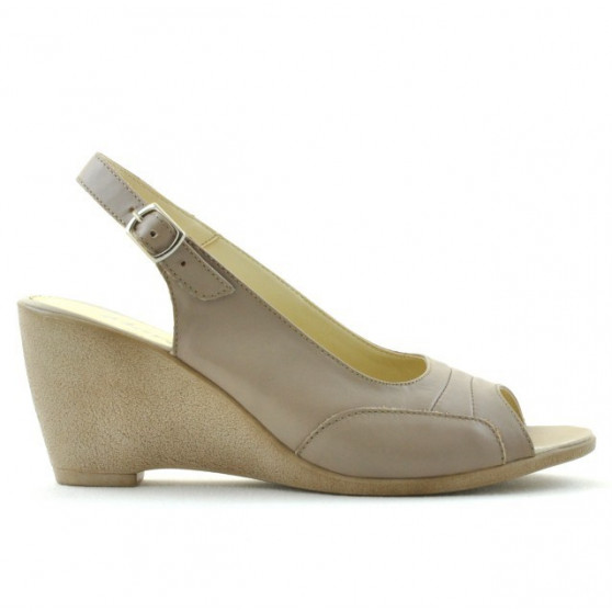 Sandale dama 599 nisip