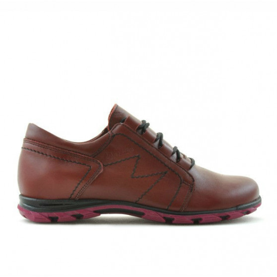Children shoes 138 burgundy