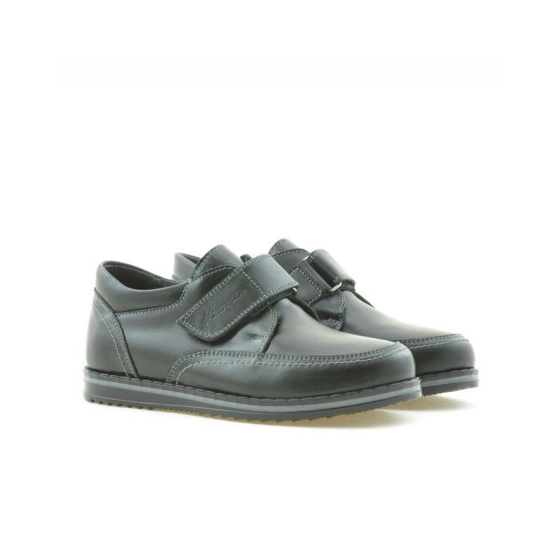 oferta specifica cel mai bun online diverse stiluri Pantofi copii 113sc negru scai. Piele naturala.