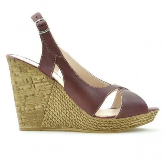 Women sandals 5015 burgundy