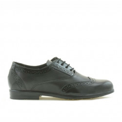 Pantofi copii 150 lac negru combinat