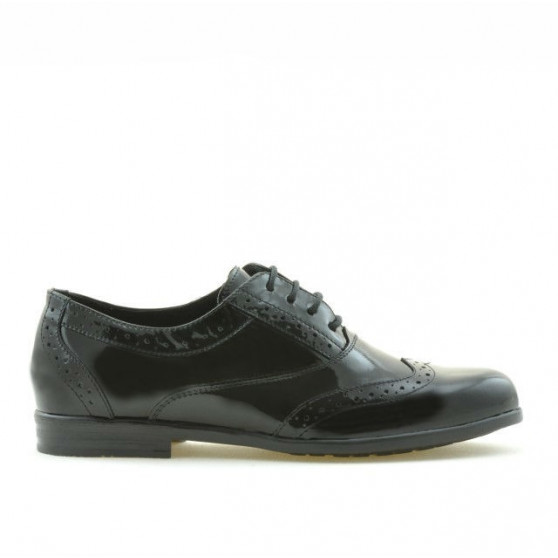 Pantofi copii 150 lac negru