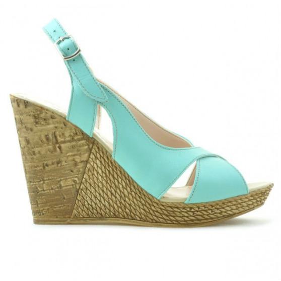 Women sandals 5015 turcoaz