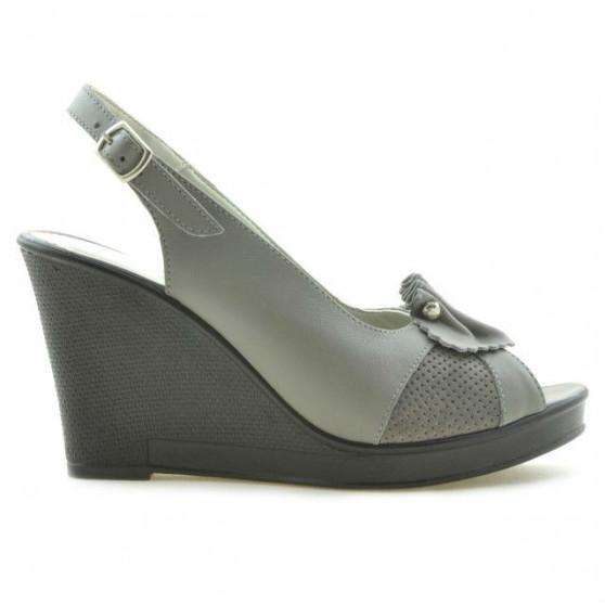 Women sandals 5002 gray deschis