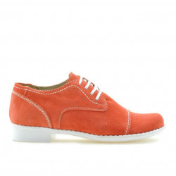 Children shoes 131 red coral velour
