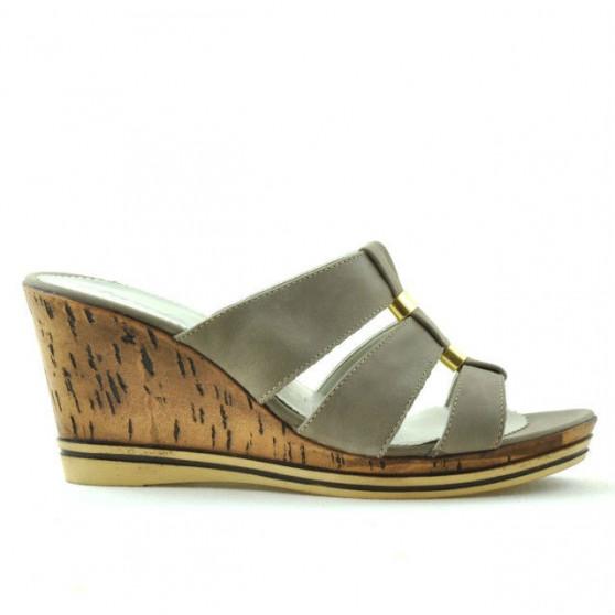 Women sandals 5014 sand satinat