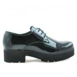 Pantofi casual dama 660 lac negru