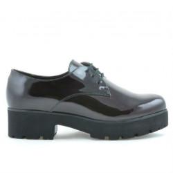 Pantofi casual dama 660 lac bordo