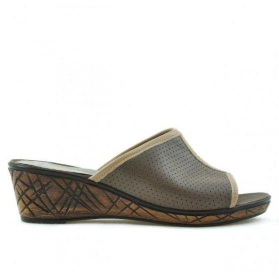 Women sandals 5004p cappuccino perforat