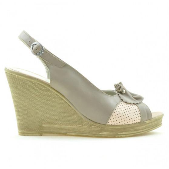 Sandale dama 5002 nisip+roz