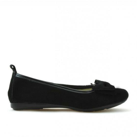 Children shoes 141 black velour