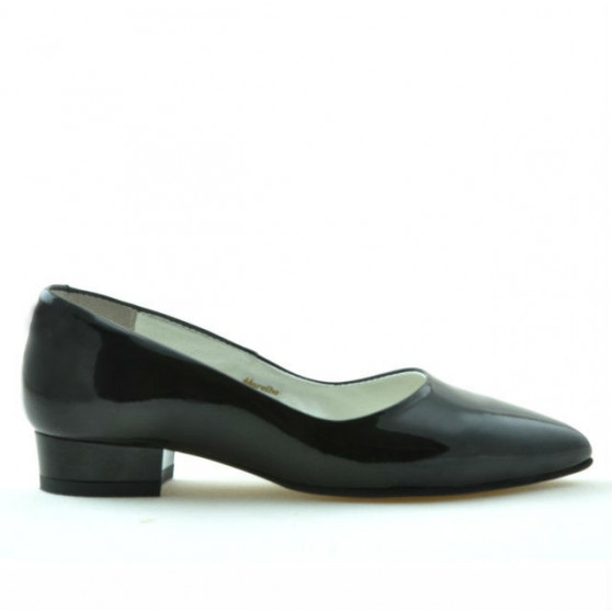 Pantofi casual dama 1248 lac negru