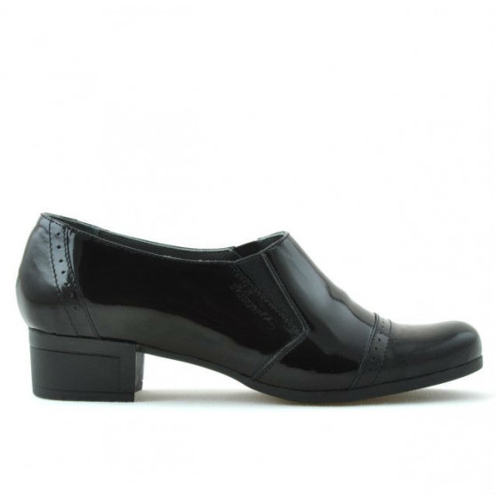 Women casual shoes 651 patent black