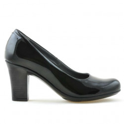 Women stylish, elegant, casual shoes 643 patent black