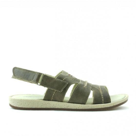 Sandale copii 323 tuxon nisip