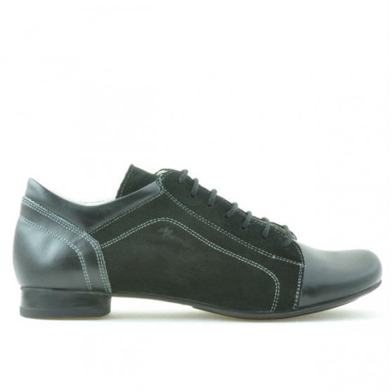 Women casual shoes 645 black combined